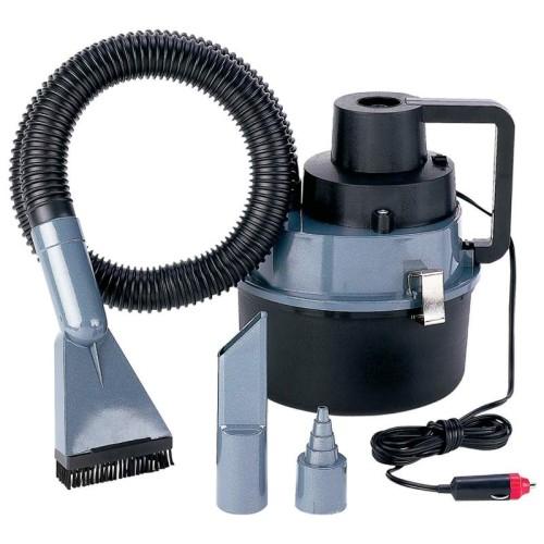 Heavy-Duty Wet/Dry Auto or Garage Vac with 90 Watt/8 Amp Motor