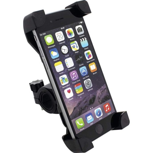 Adjustable Motorcycle/Bicycle Large Phone Mount with Swivel Joint
