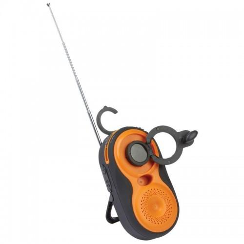 Mitaki-Japan Wind-Up AM/FM Water-Resistant Radio