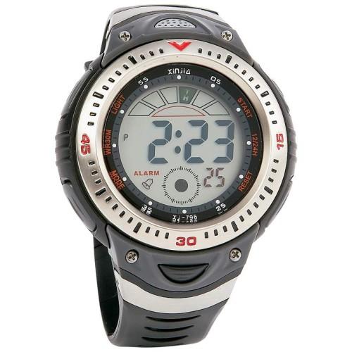 Mitaki-Japan Men's Digital Sport Watch with Polyurethane Band