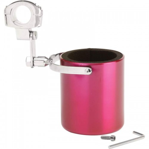 Diamond Auto Sales >> Pink Stainless Steel Motorcycle Cup Holder with Adjustable Clamp GFCUPPNK