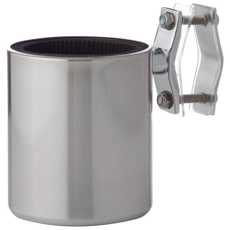 Diamond Plate Universal Stainless Steel Motorcycle Cup