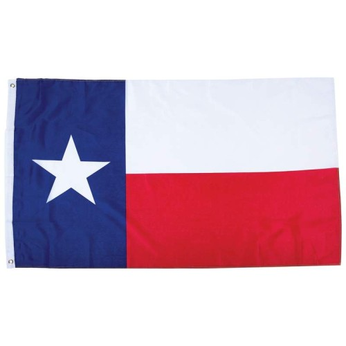 100D Printing 5' x 3' Polyester Texas State Flag with 2 Grommets