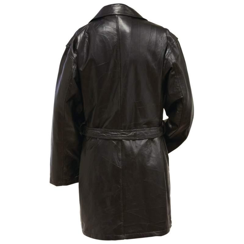 Giovanni navarre leather jacket