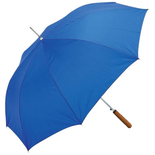 """All-Weather Royal Blue 48"""" Polyester Auto-Open Umbrella"""