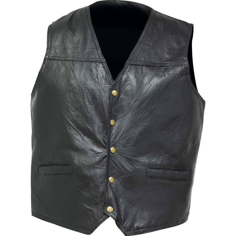 Black Concealed Carry Vest With Gun Pockets And Holster