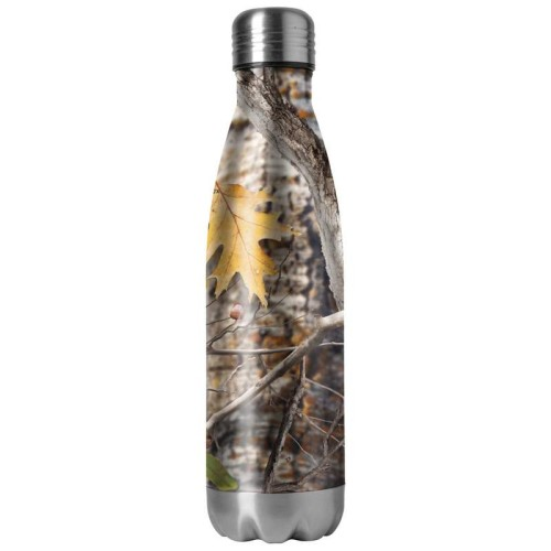 16.9 oz Double Wall Stainless Steel Camouflage Vacuum Bottle