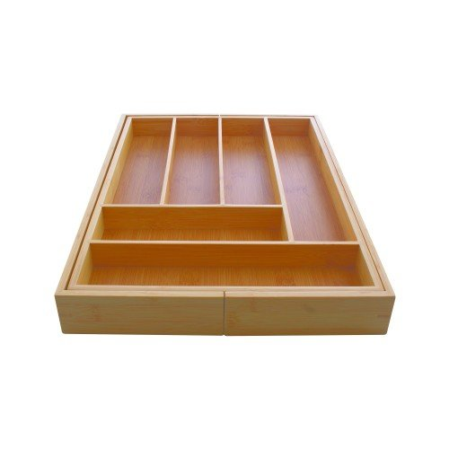 Chef's Secret Expandable Bamboo Drawer Organizer