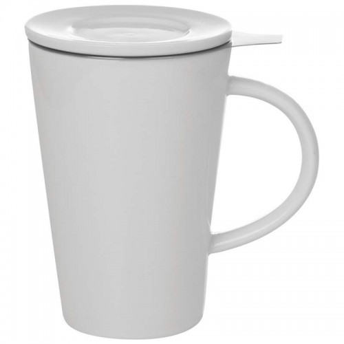 Wyndham House 13.5 oz White Porcelain Tea Steeping Mug