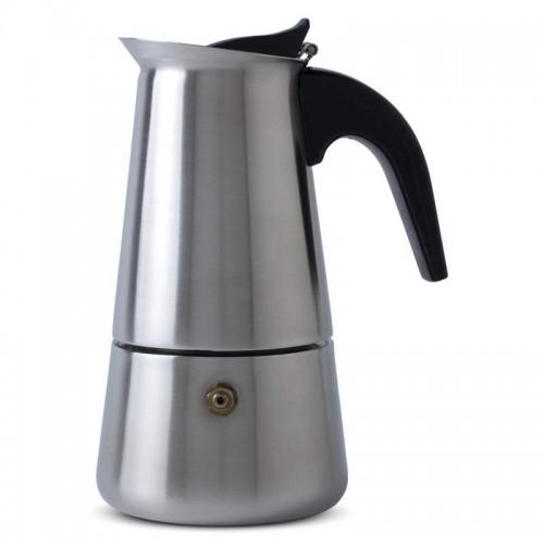 Chef's Secret Heavy-Gauge Stainless Steel 4-Cup Espresso Maker