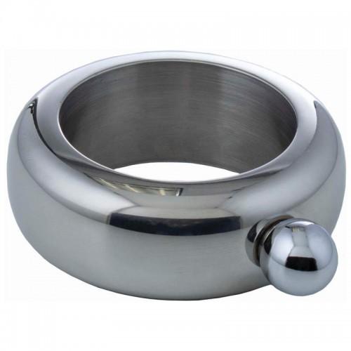3.5 oz Stainless Steel Bracelet Flask