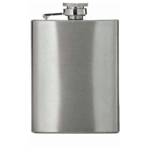 Maxam 4oz Sturdy 201 Stainless Steel Flask