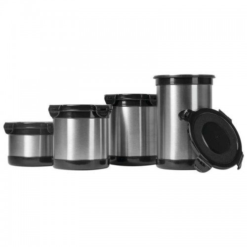 4 PC Stainless Steel Storage Containers