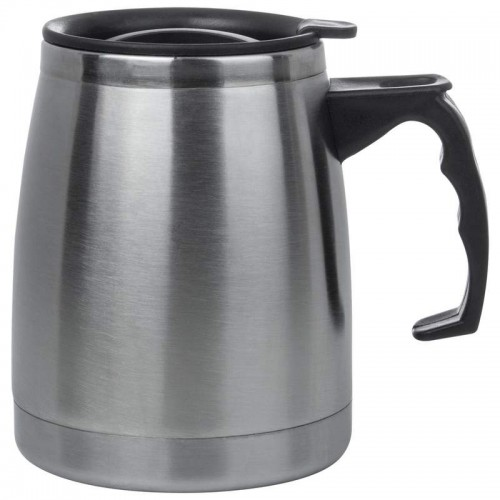 16 oz Double Wall Stainless Steel Boat Mug with Slider Lid