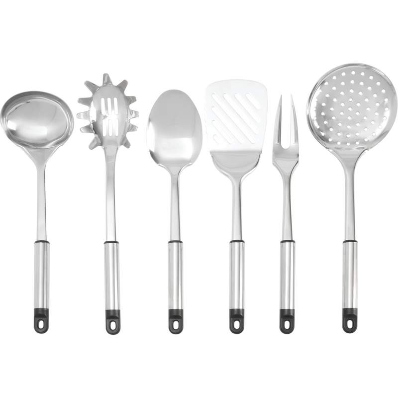 14pc Stainless Steel Kitchen Tool And Gadget Set With Rack