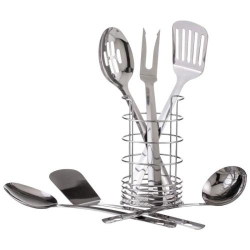7 PC 18/8 Stainless Steel Kitchen Tool Set