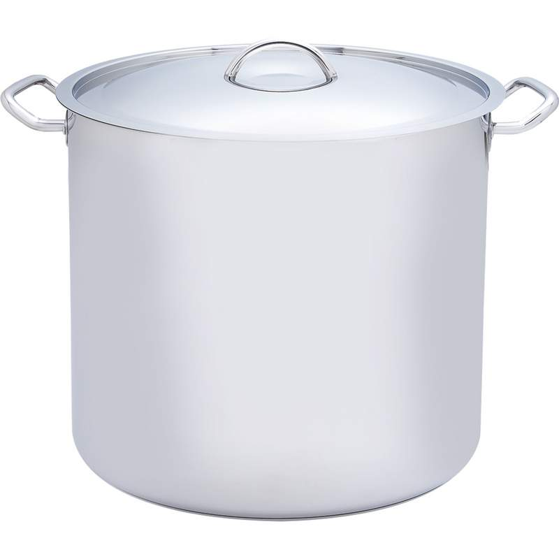 Precise heat 65qt 12 element t304 stainless steel stockpot for Stainless steel elements
