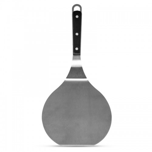 "Maxam 15"" Jumbo Stainless Steel Spatula with Wood Handle"