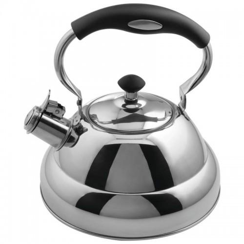 2.75 qt Stainless Steel Tea Kettle Copper Center Capsule Bottom