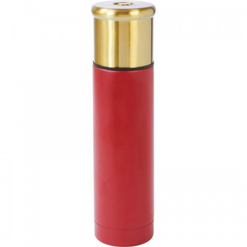 Shotgun Shell Style 16 oz Stainless Steel Vacuum Bottle