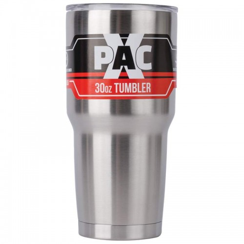 X-PAC 30 oz Double Vacuum Wall Tumbler with Lid