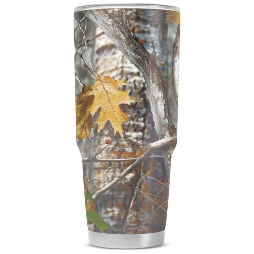 44 oz Camouflage Stainless Steel Double Vacuum Tumbler With Lid