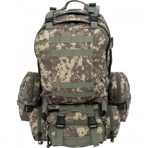 Extreme Pak 4pc 600d Construction Digital Camouflage Backpack