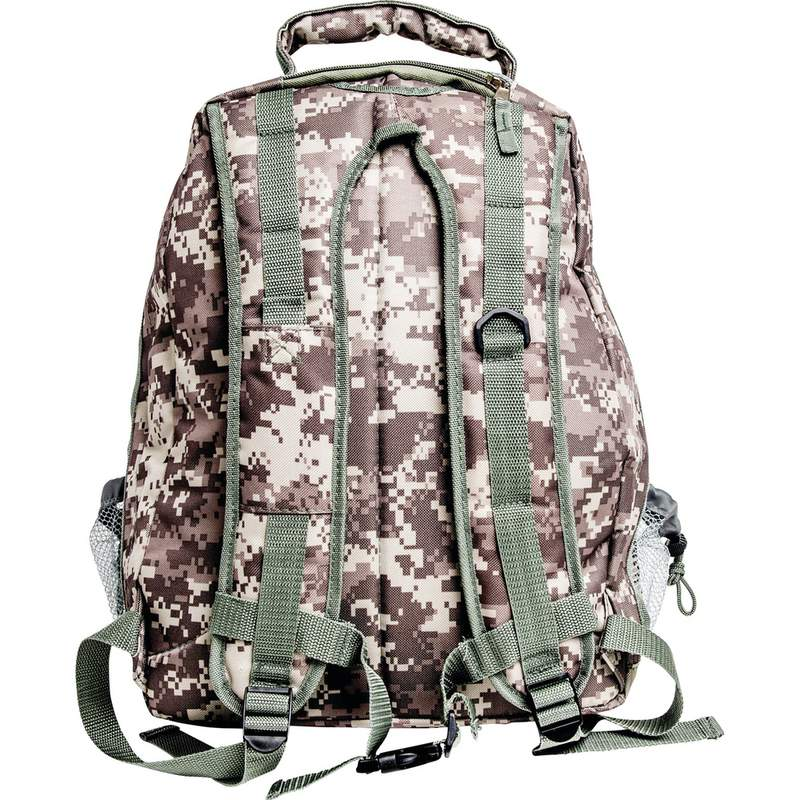 3412bafe5f8 Extreme Pak Camouflage Water-Resistant Backpack with Mesh Pocket LUBPSD