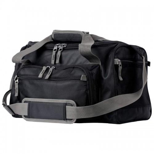 Large Black Cooler Bag with Zip-Out Liner and Shoulder Strap