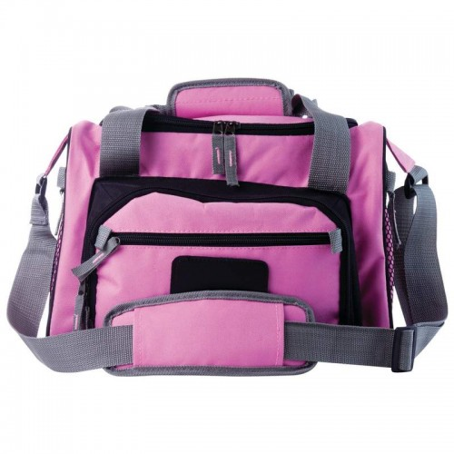 Extreme Pak Pink Polyester Cooler Bag with Zip-Out Liner