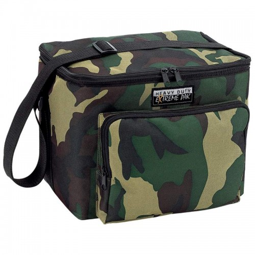Extreme Pak Camouflage Water-Resistant Heavy-Duty Cooler Bag