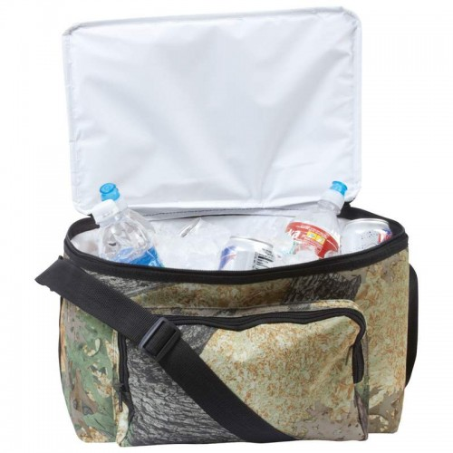 Maxam Invisible Camouflage Cooler Bag with Exterior Mesh Pocket