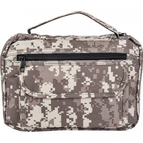 Digital Camouflage Bible Cover with Pockets and Pen Holder