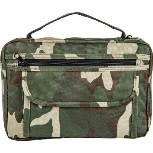 Embassy Camouflage Bible Cover with Pocket and Pen Holder