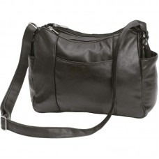 ef5ffb9473ae Buy Embassy Black Solid Lambskin Leather Purse with Multiple Pockets in Bulk