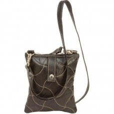 c2c9ef2f9961 Maxam Italian Mosaic Design Black Lambskin Leather Backpack Purse ...