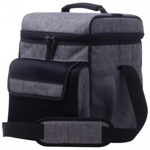 Extreme Pak Large Grey Cooler Bag with Padded Shoulder Strap