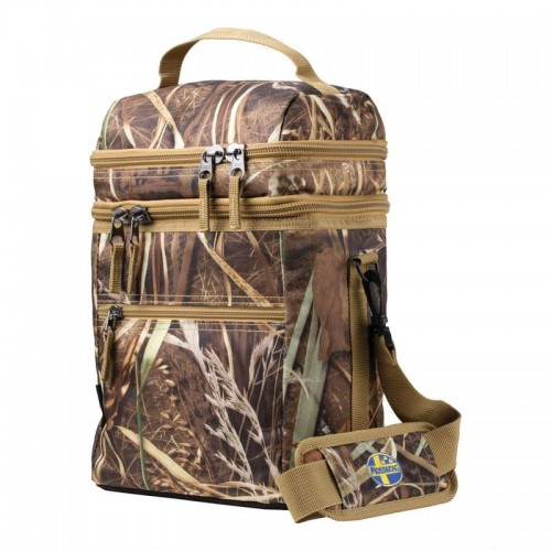 Camouflage Cooler Tote Features Insulated Main Compartment