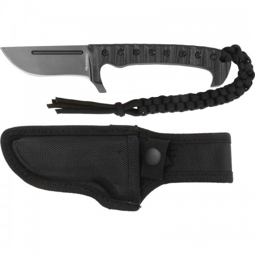 """8"""" Hunting Knife with Fixed Stainless Steel Non-Glare Honed Blade"""
