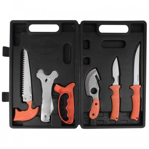 7PC Game Cleaning Set has 420 Stainless Steel Satin Finish Blades