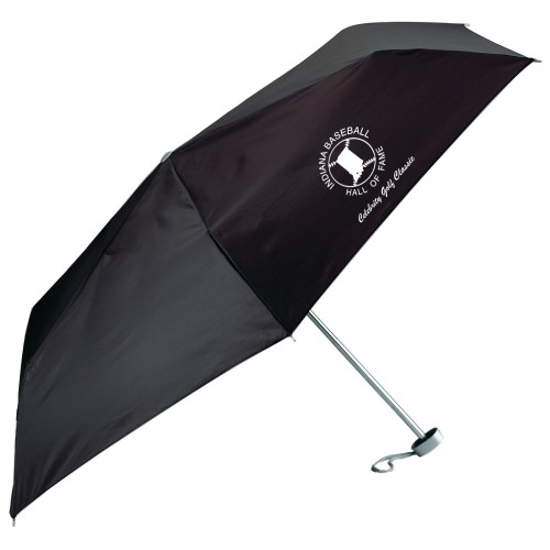 "40"" Black Folding Umbrella with Promotional Print Service"