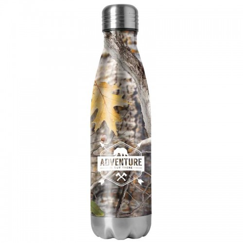 Double Wall Stainless Steel Camouflage Vacuum Bottle with Print