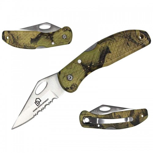 "Maxam 4"" Lockback Knife with Laser Engraving"