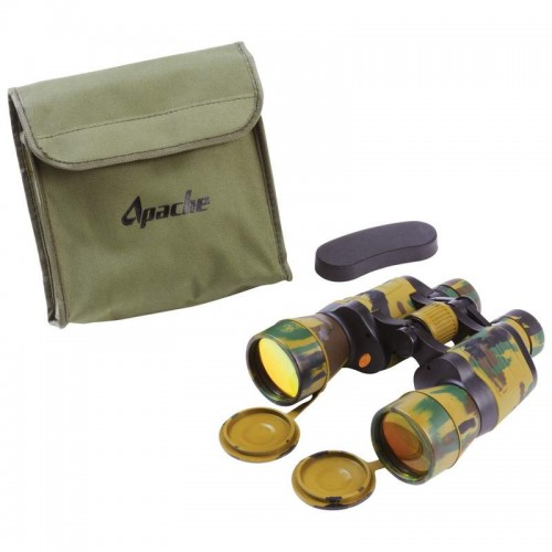 OpSwiss 10x50 Camouflage Binoculars with Screen Print on Case