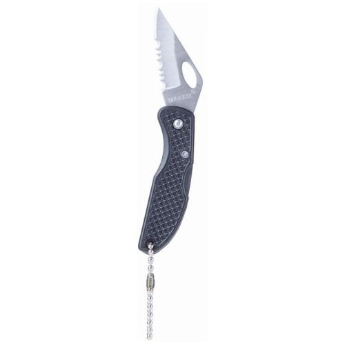 Maxam Falcon IV Lockback Knife with Thumbhole and Key Chain