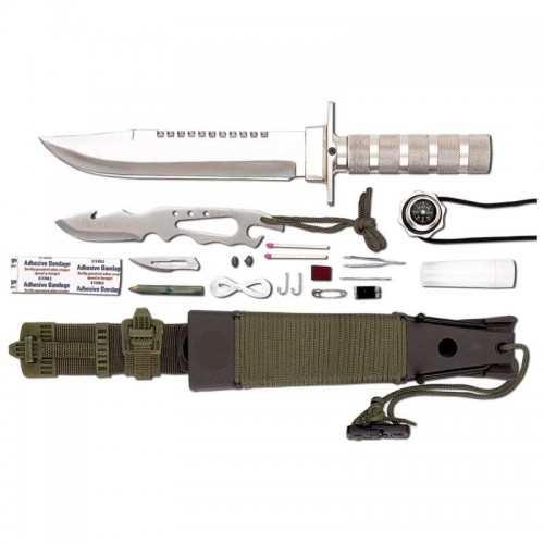 Buy Maxam 12pc Survival Knife Set in Bulk
