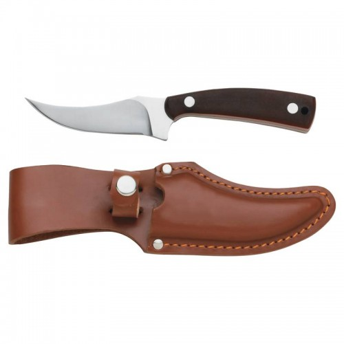 Maxam Fixed Blade Skinning Knife with Stainless Steel Handle