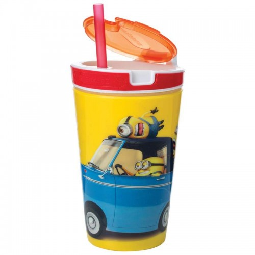 Snackeez 8 OZ Minions Cup Holds your Drink and Snacks