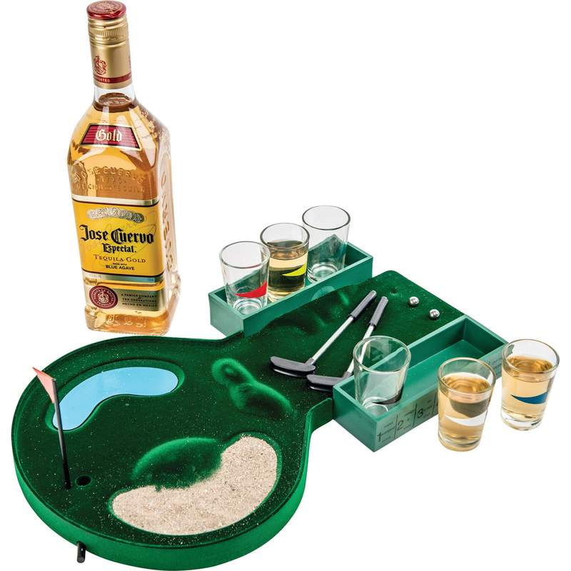 Maxam 6 Shot Drinking Miniature Golf Course Game With