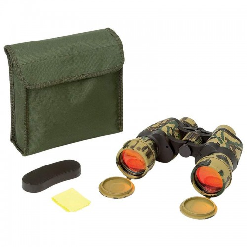 OpSwiss 10x50 Camouflage Binoculars with XLR Ruby Coated Lenses